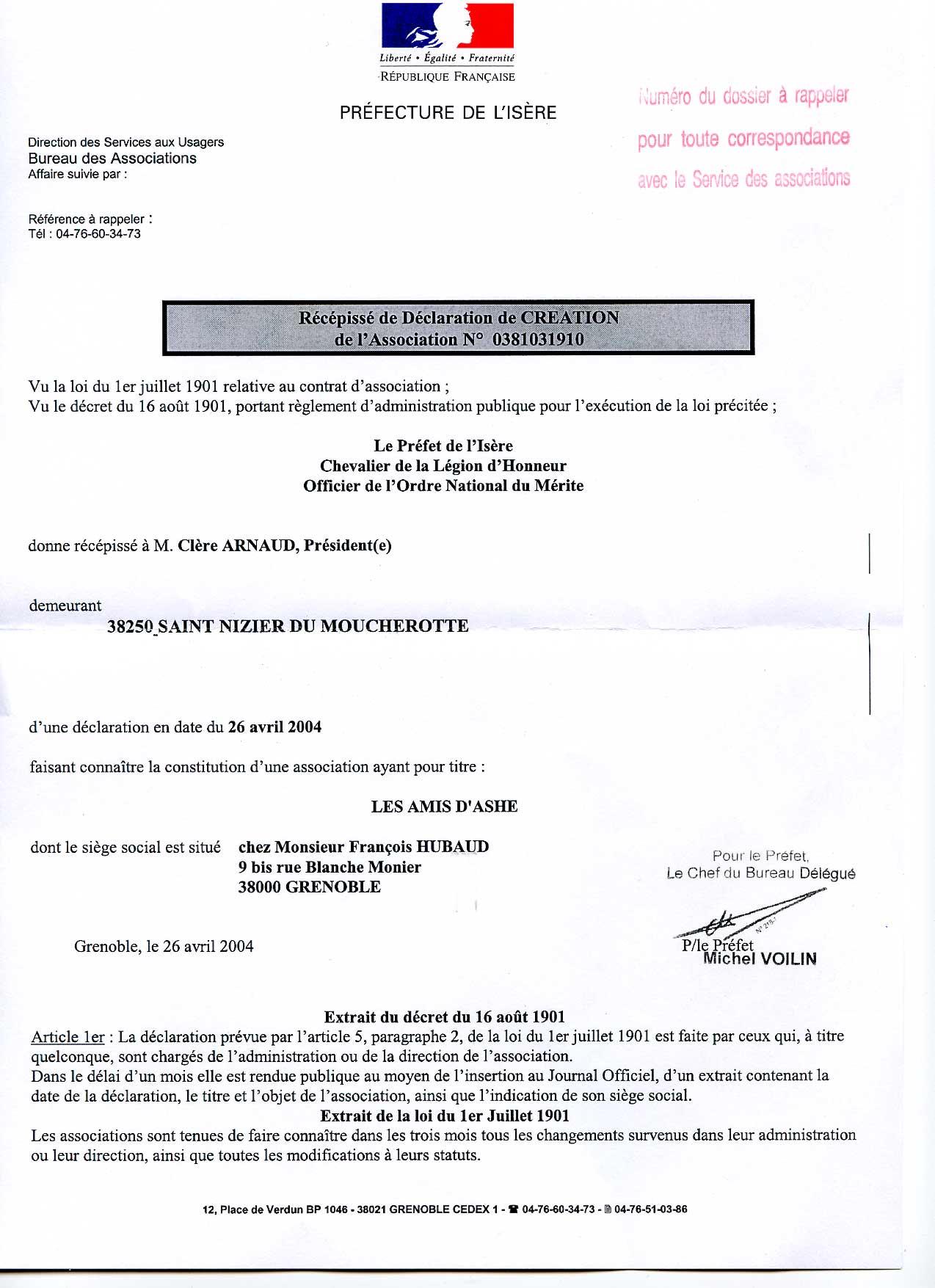 Image Result For Bureau Des Associations Prefecture